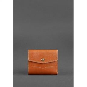 blanknote кожаный кошелек 2.1 светло-коричневый