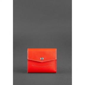 blanknote женский кожаный кошелек 2.1 красный