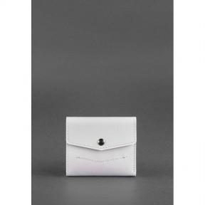 blanknote женский кожаный кошелек 2.1 белый