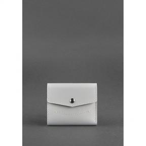 blanknote женский кожаный кошелек 2.1 серый