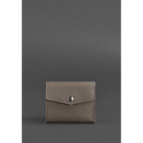 blanknote женский кожаный кошелек 2.1 темно-бежевый
