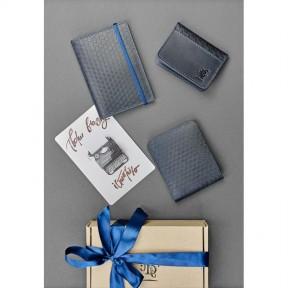 blanknote мужской подарочный набор кожаных аксессуаров ливерпуль