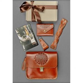 blanknote женский подарочный набор кожаных аксессуаров будапешт
