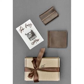 blanknote мужской подарочный набор кожаных аксессуаров лас-вегас