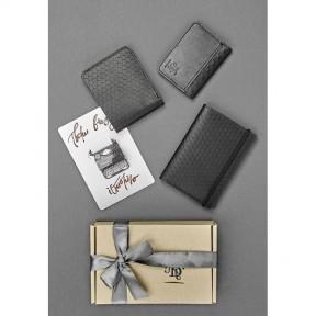blanknote мужской подарочный набор кожаных аксессуаров милан