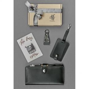 blanknote набор кожаных аксессуаров для путешественника берлин