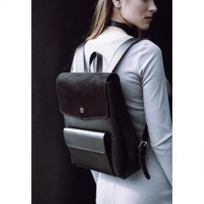 blanknote женский кожаный городской рюкзак черный blank - black point