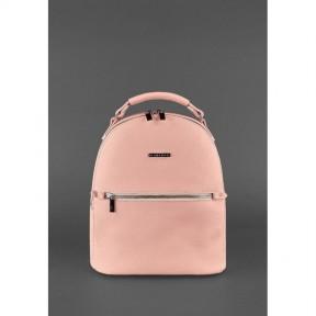 blanknote кожаный женский мини-рюкзак kylie розовый
