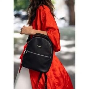 blanknote кожаный женский мини-рюкзак kylie черный