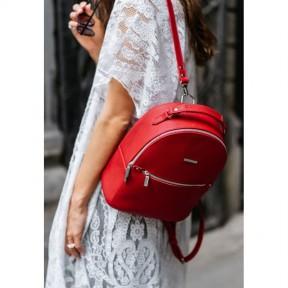 blanknote кожаный женский мини-рюкзак kylie красный