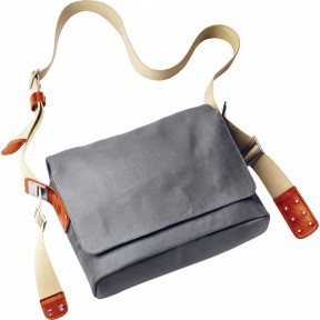 brooks england paddington shoulder bag grey