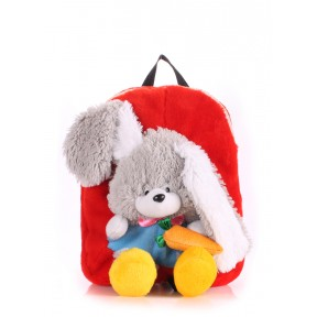 poolparty kiddy rabbit red
