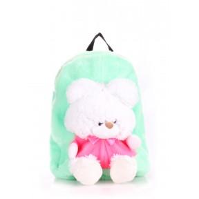 poolparty kiddy teddybear green