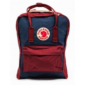 fjallraven kanken ox red-royal blue 326-540