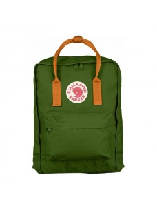 Fjallraven Kanken Leaf Green-Burnt Orange 615-212