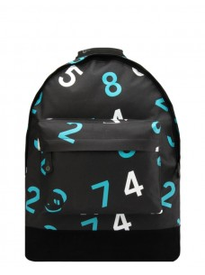 Mi-Pac Numbers Black