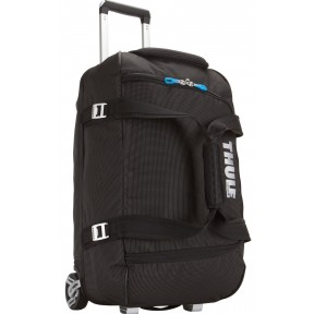 thule crossover 56l rolling duffel (tcrd1) black