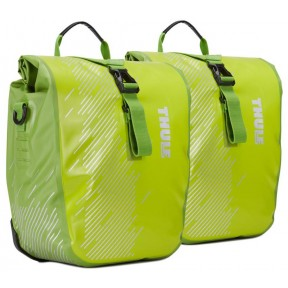 thule велосипедные сумки thule shield pannier small (chartreuse)