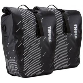 thule велосипедные сумки thule shield pannier large (black)
