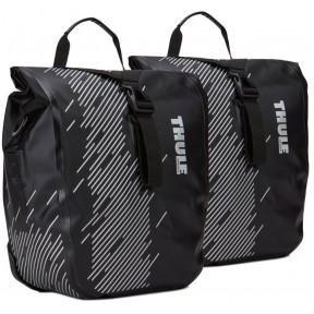 thule велосипедные сумки thule shield pannier small (black)