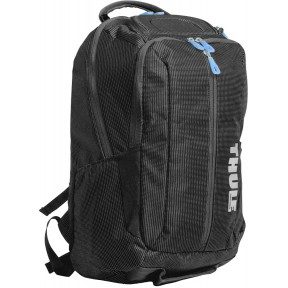 thule рюкзак thule crossover 25l backpack (black)