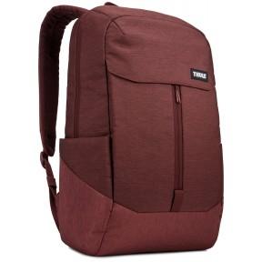 thule рюкзак thule lithos 20l backpack (dark burgundy)
