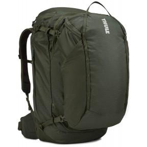 thule туристический рюкзак thule landmark 70l (dark forest)