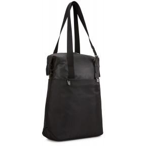 thule наплечная сумка thule spira vetrical tote (black)