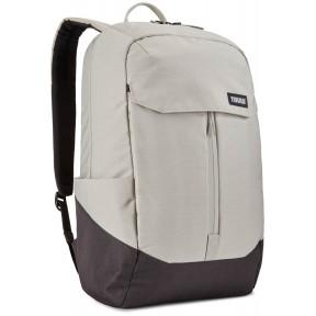 thule рюкзак thule lithos 20l backpack (concrete/black)