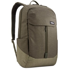 thule рюкзак thule lithos 20l backpack (forest night/lichen)