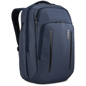 thule рюкзак thule crossover 2 backpack 30l (dress blue)