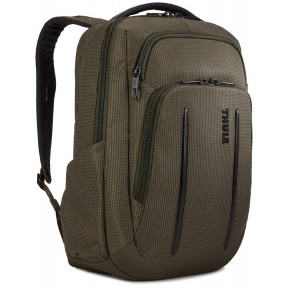 thule рюкзак thule crossover 2 backpack 20l (forest night)
