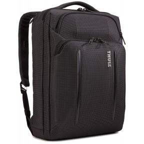 "thule сумка для ноутбука thule crossover 2 convertible laptop bag 15.6"" (black)"