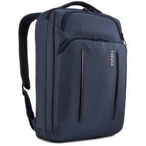 "thule сумка для ноутбука thule crossover 2 convertible laptop bag 15.6"" (dress blue)"