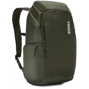 thule рюкзак thule enroute camera backpack 20l (dark forest)