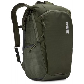 thule рюкзак thule enroute camera backpack 25l (dark forest)