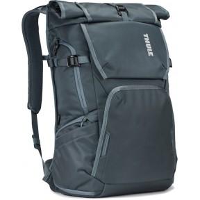 thule рюкзак thule covert dslr rolltop backpack 32l (dark slate)