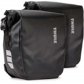 thule велосипедные сумки thule shield pannier 13l (black)