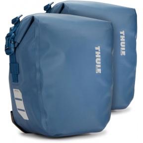 thule велосипедные сумки thule shield pannier 13l (blue)