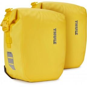 thule велосипедные сумки thule shield pannier 13l (yellow)