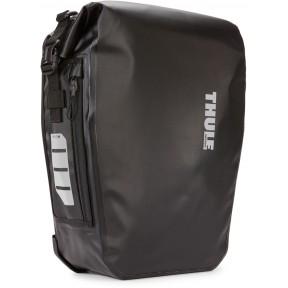 thule велосипедная сумка thule shield pannier 17l (black)