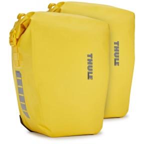 thule велосипедные сумки thule shield pannier 25l (yellow)