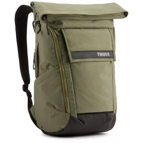 thule рюкзак thule paramount backpack 24l (olivine)