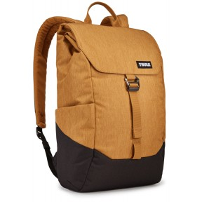 thule рюкзак thule lithos 16l backpack (wood trush/black)