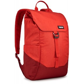 thule рюкзак thule lithos 16l backpack (lava/red feather)