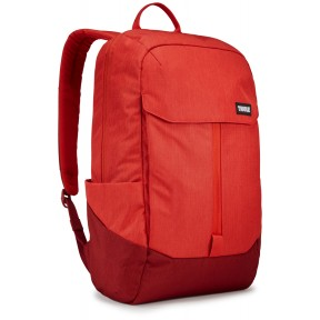 thule рюкзак thule lithos 20l backpack (lava/red feather)