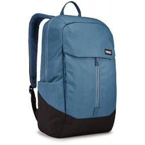 thule рюкзак thule lithos 20l backpack (blue/black)