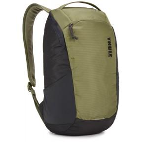 thule рюкзак thule enroute backpack 14l (olivine/obsidian)