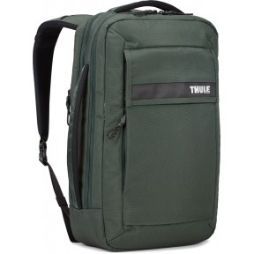 thule рюкзак-наплечная сумка thule paramount convertible laptop bag (racing green)