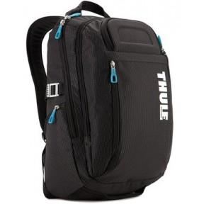 thule crossover 21l macbook backpack (tcbp-115) black